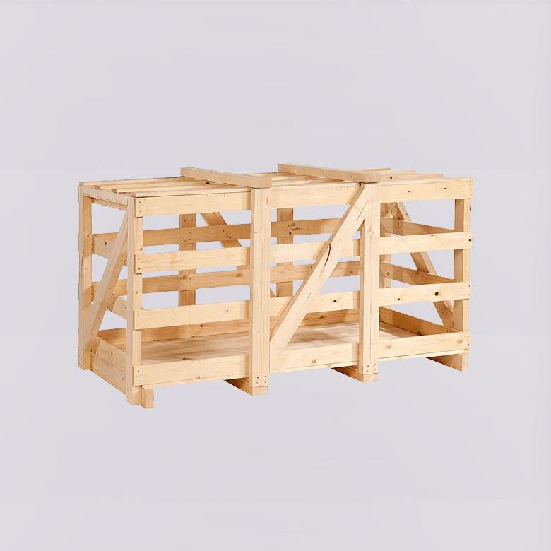花格箱与木架